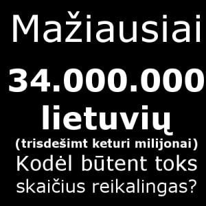 34000000lietuviu
