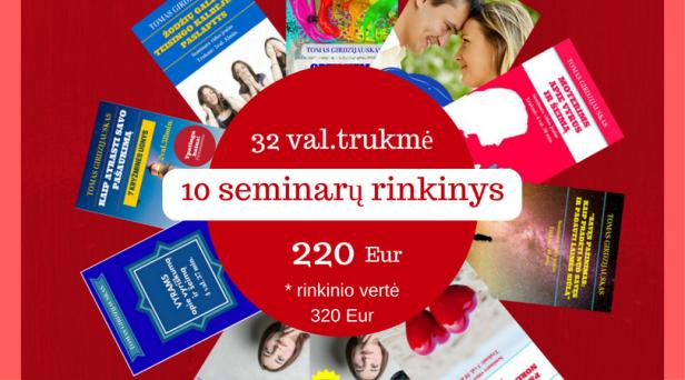 10 seminarų rinkinys