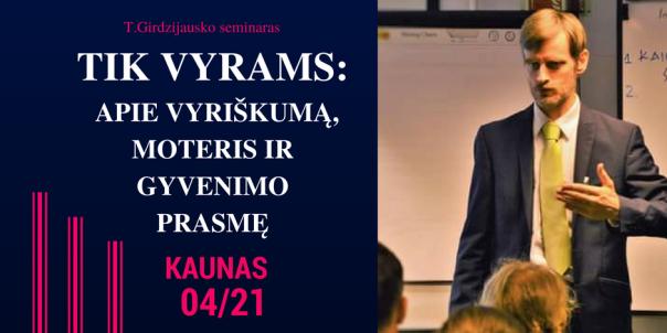 Copy of T.Girdzijausko seminarų CD IŠPARDAVIMAS